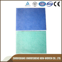 Wet wipes/Baby wipes Materials/Spunlace Nonwoven Fabric without embossing
