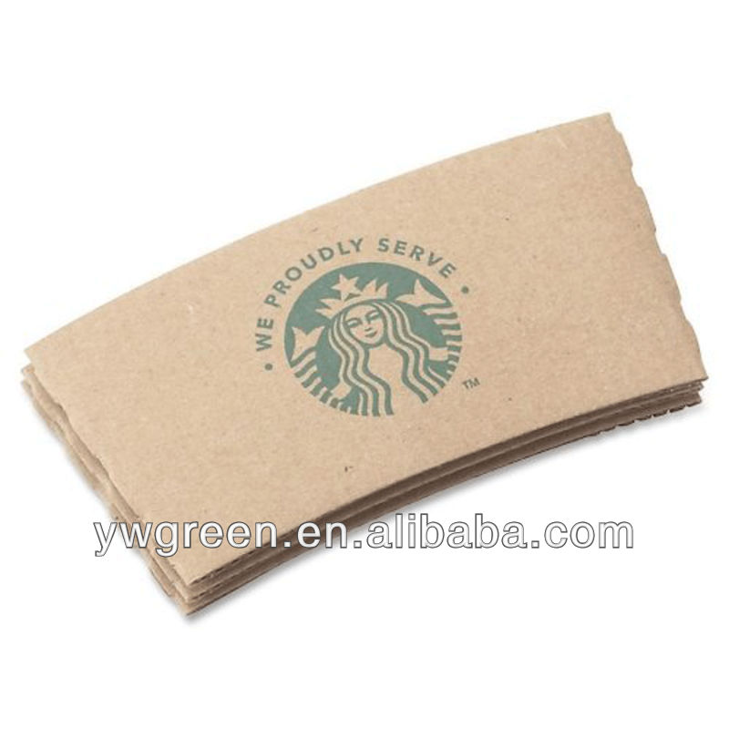 Starbucks Hot Cup Sleeve - Brown - Paper/ Carton