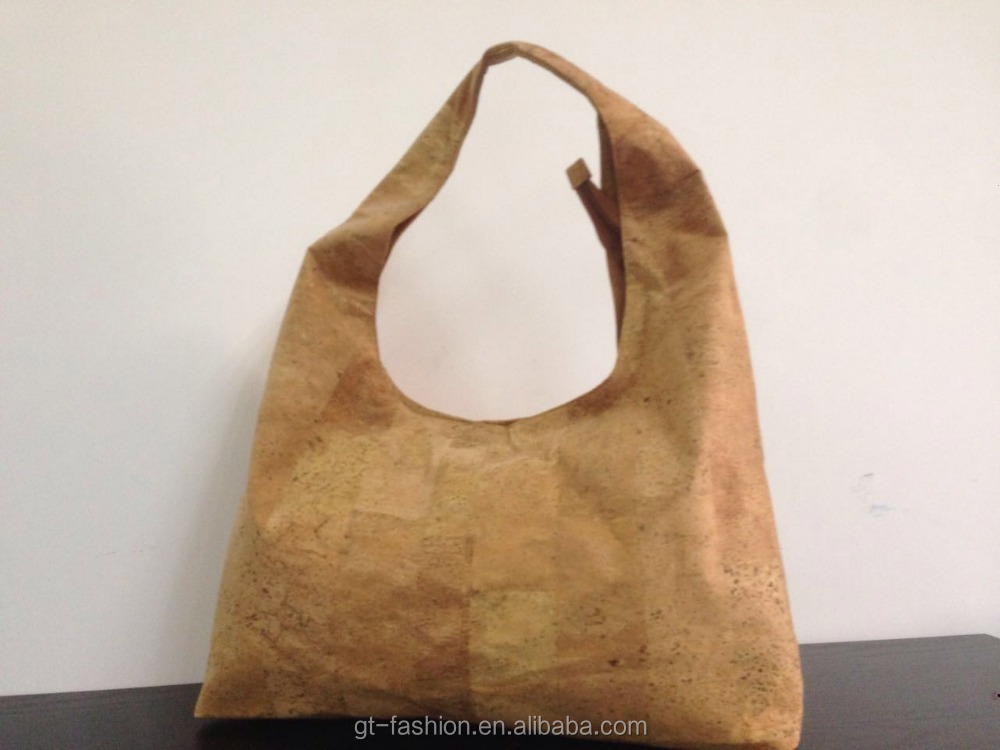 Real Cork Leather Shoulder Bags ,Cork Bag (CK0033)