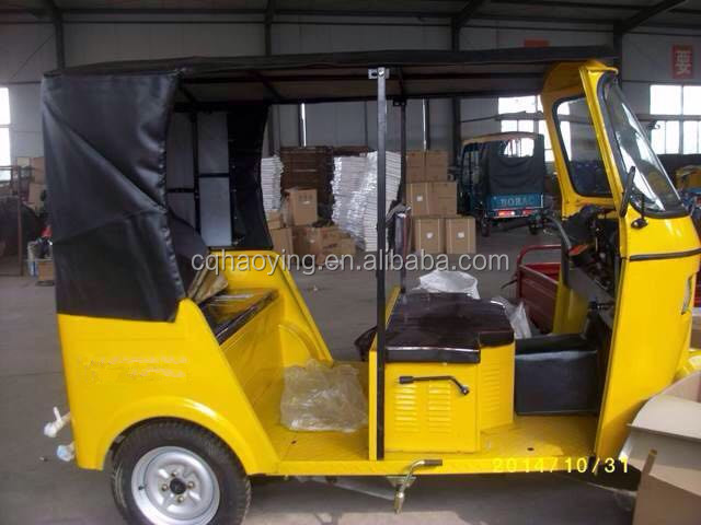 Tuk Tuk 150cc 175cc 200cc 250cc India Bajaj Three Wheel Motorcycle