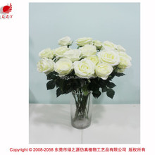 Romantic artificial flower rose flower wedding decoration