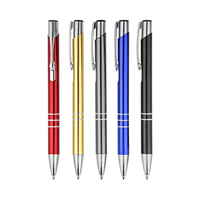 Top Quality Customized Promotional Metal Ball Pen Black Metal Pen