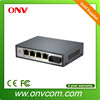 4 port poe switch OEM/ODM factory price for Home Security Solution