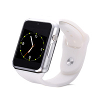 china best hot sell GSM smart watch phone with touch display and camera A1 watch phone