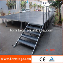 global Beyond exhibition stage.mobile stage used stage for sale