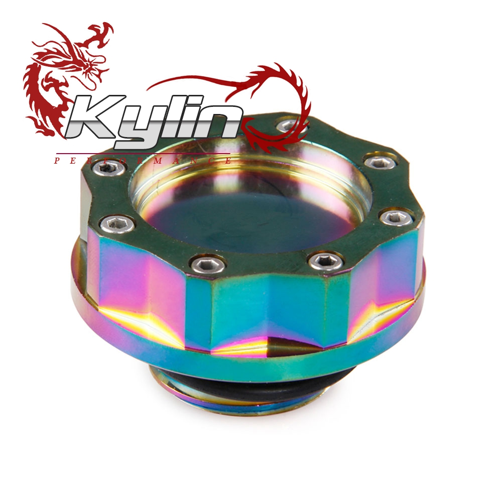 kylin racing new style neo chrome fuel tank Cap oil cap For Japanese car