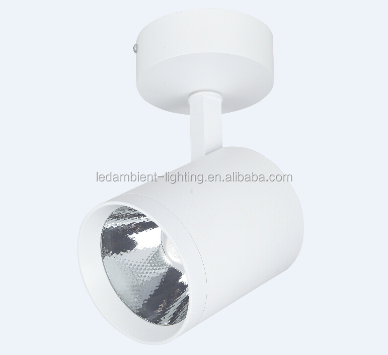 Matt White LED Ceiling <strong>Spotlight</strong> 30W COB Surface Mounted LED Light