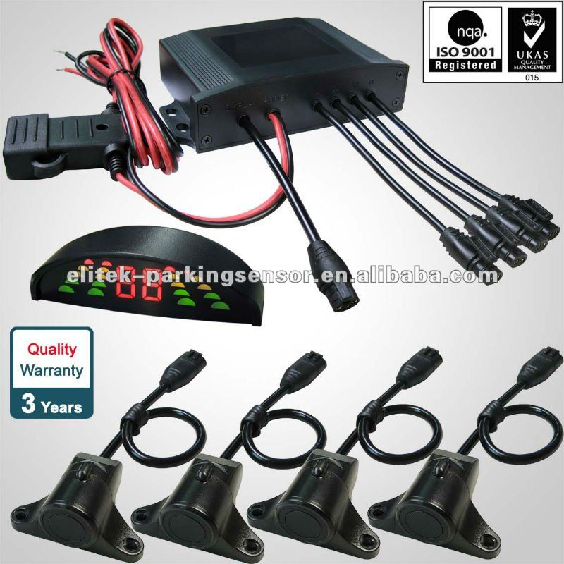 2013 Hot selling car reversing aid smart sensor car LED parking sensor