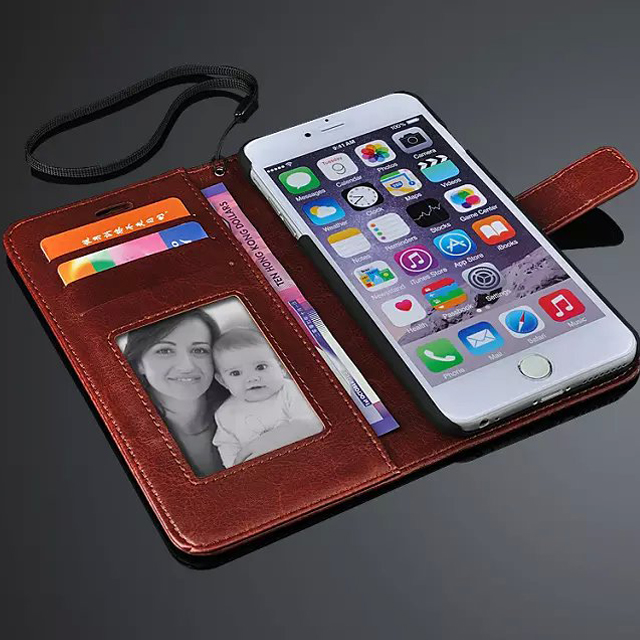 PU Leather Phone Case for iPhone 6 & 6s & 6plus