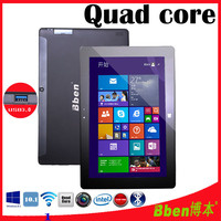 BBEN touch screen 10.1 inch windows tablet with 1280*800 IPS screen Intel quad core dual camera 3D games