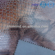 Shining Surface Lizard Skin Pattern PVC Leather for Bags and Decoration