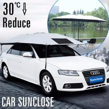 SUNCLOSE heat insulated function uv protection waterproof folding magnetic cover car window sun visor