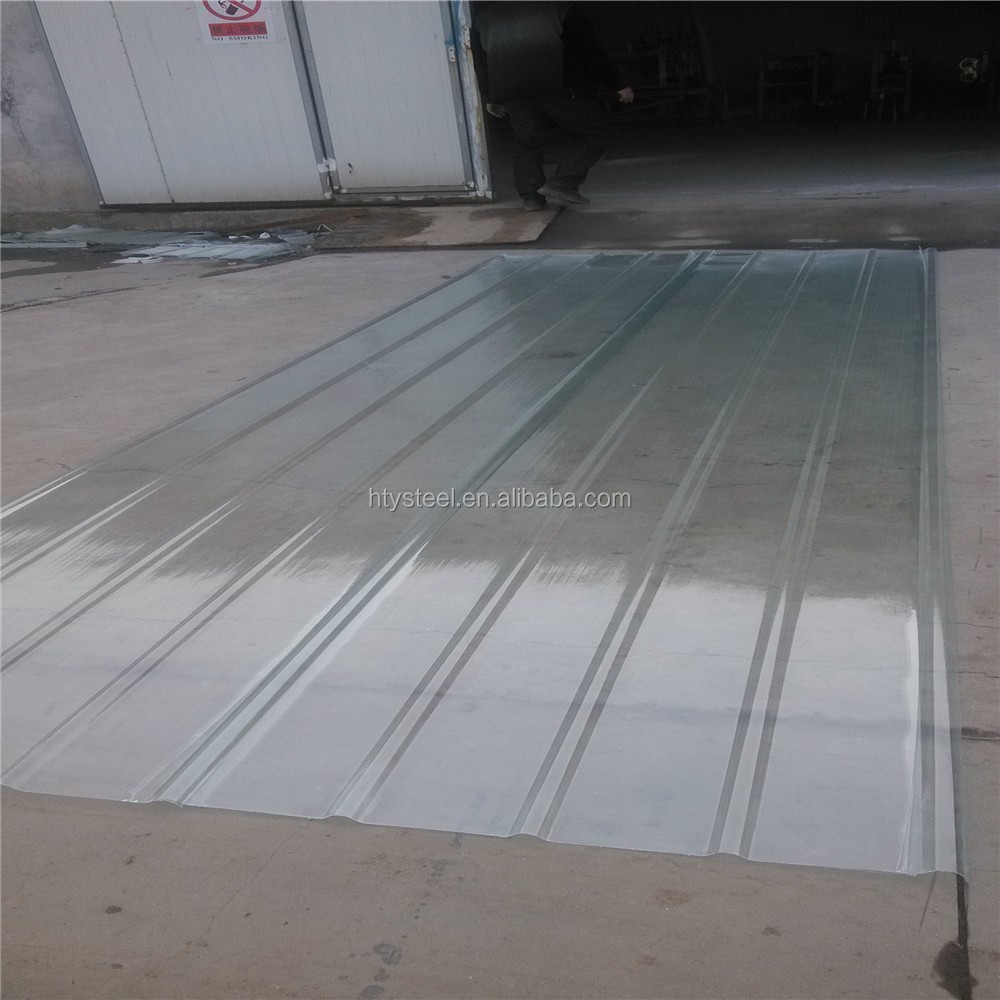 Translucent Panels For Metal Buildings : Skylight polycarbonate corrugated roof sunroom panel for