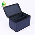 Wholesale cardboard wrapped pp non woven fabric foldable home underwear storage box