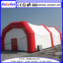 cube shape 2015 hot sale giant inflatable led tent