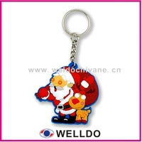Custom pvc blank keyrings wholesale in Guangzhou