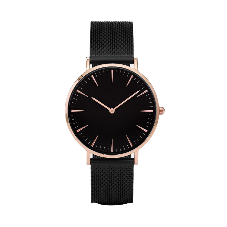 Watches Ladies Fashion Leather Watch Women Watches With Stainless Steel Case