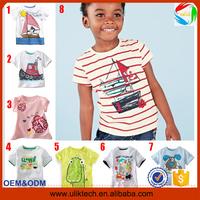 2015 New design children summer kids t shirt for 100% cotton t shirt for child wear wholesale China casual t shirt kid(Ulik-T15)