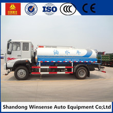 HOWO 6X4 16000 liter stainless steel water tank truck, truck mounted water well drilling machine, water sprinkler truck