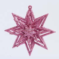 wholesale cheap personalized custom original snowflake christmas tree decoration