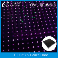 Wonderful video led colorful dance floor Waterproof screen for Wedding Disco DJ IP65