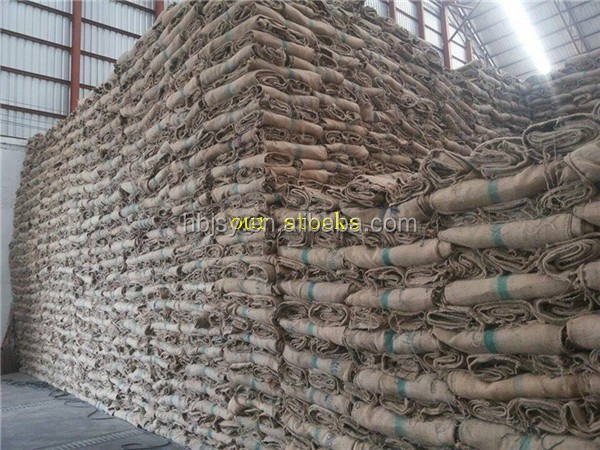 2016 china Latest Hot Selling jute bags 100kg wholesale used jute bags hemp sack for coffee onion
