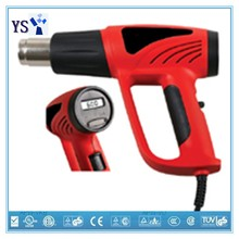 LCD & Adjustable Temperature hot air gun