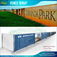 Custom Printed Fence Wrap & Outdoor Vinyl Banners