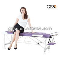 Sales from Stock 2-colors Aluminum Portable Adjustable Massage Table