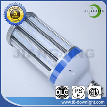 shenzhen 110lm/w epstar 27w e40 led corn light with IP64