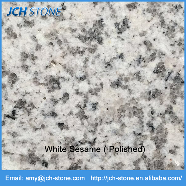 Cheap and Hardness White Sesame Granite Clean Bar Top Price