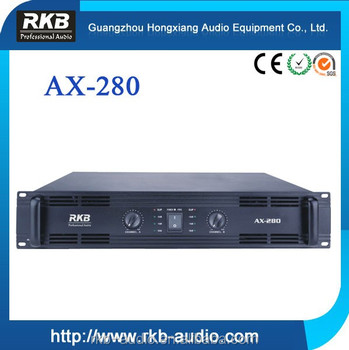 AX-280 high Power amplifier speaker/amplifier
