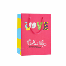 Top fashion lovely series valentine's day paper gift bag