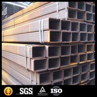 Square hollow beam black iron square steel pipe alibaba china supplier