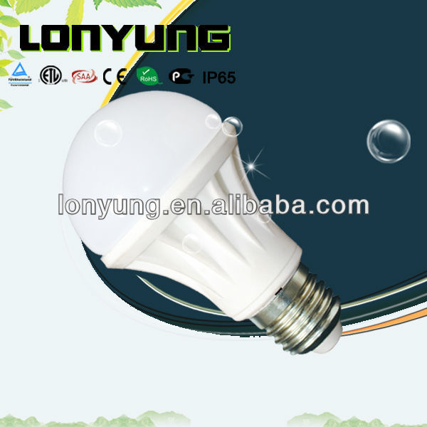3 years wanrranty 6W E27 CE-EMC/LVD Listed LED BULB