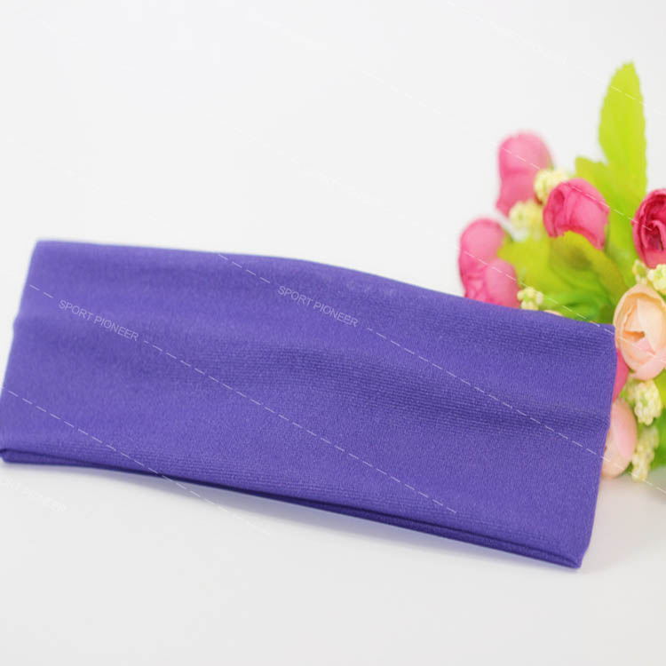 stretch yoga headband for hair