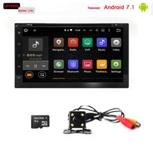 Touch screen Android 7.1 Auto Radio Touch Screen 2 Din Car Dvd Gps For nissan versa 2004-2010