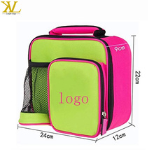 Insulated Lunch Box Bag For Baby Girl School Bag Thermal Cooler Lunch Bag