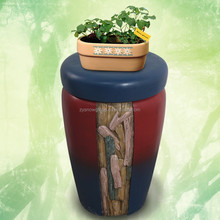 Indoor decoration resin flower pot stand for garden or family