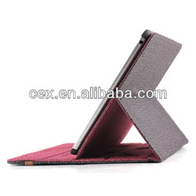 2014 New Products Convertible Both Side Can Be Front Smart Leather Case Cover For Apple iPad Air 5