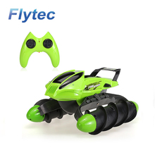 Flytec 989-393 2.4G All-terrain High Speed RC Tank Amphibious Stunt Waterproof Sand Lake Pool Grass Snow Slippery Road