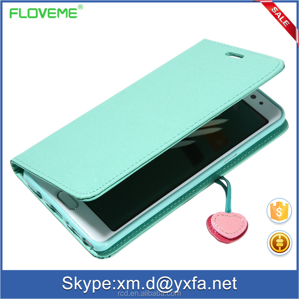 Flip PU Stand Leather Wallet Case Cover for iPhone 4 FLOVEME 4s Case
