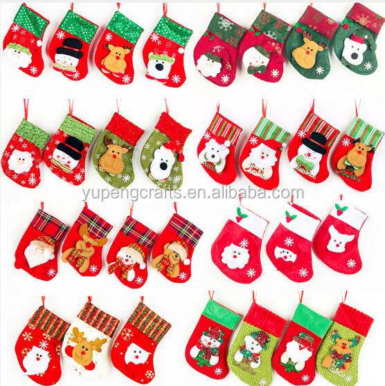 Wholesale Santa Clause Christmas Stocking