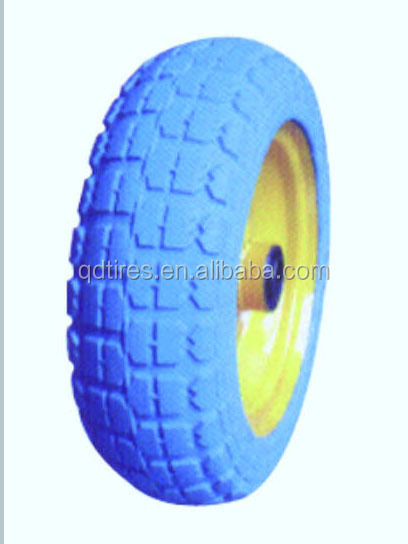 "10""*3.50-4 pu foam rubber wheels"