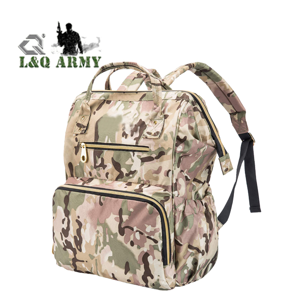Tactical Woman Backpack Small Bag Lady