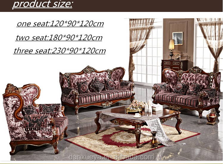 DanXueYa-French style ornate Alice furniture for sale 853B#
