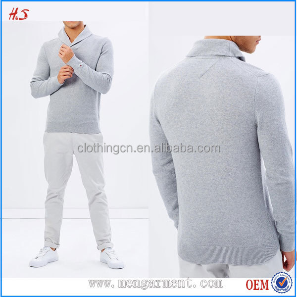 Fashionable Design Bulk Men Clothing Straight Classic Fit Kint Men's Shrug Sweater With Hooded