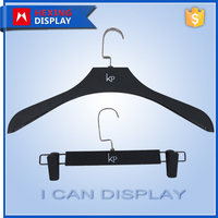 Cheap Rubber Coated Clothes Plastic Hanger