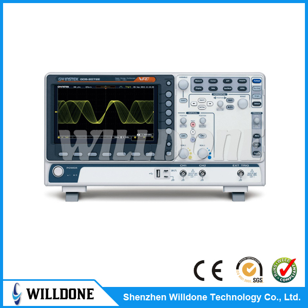 High Quality 2 Channel Handheld Oscilloscopes