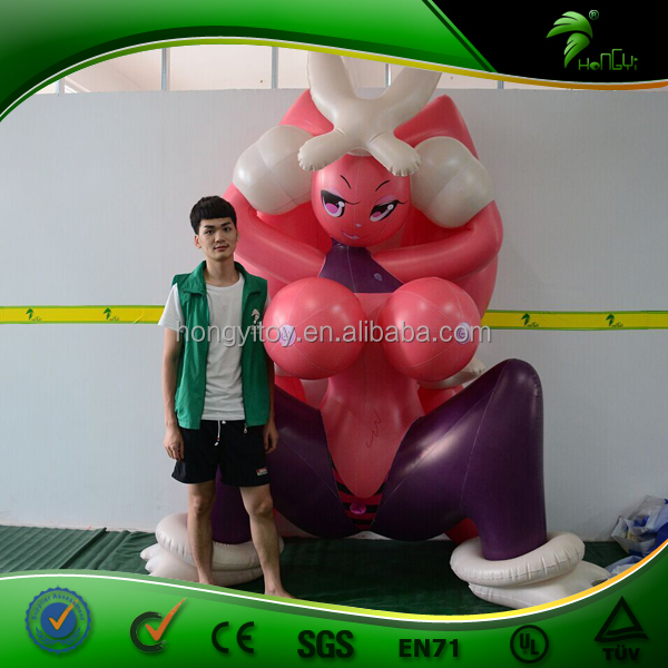 Blow Up Customized Sexy Inflatable Cartoon / Inflatable Girl With Vagina For Men / Inflatable Sex Doll For Girl